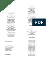 Canciones y Poemas