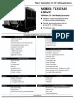 Generador 1200 Rpm