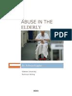 elder care in the hospital setting