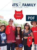 University of Arizona Parents & Family Magazine Spring 2016