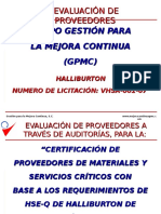 Metodo Cert Proveeds Halliburton Rev b