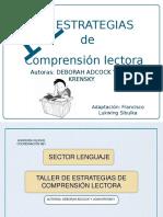 TALLER DE COMPRENSIÓN LECTORA .ppt