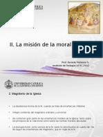 5. La Misión de La Moral Cristiana (1)