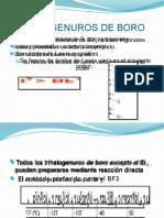 Trihalogenuros de Boro