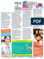Pharmacy Daily for Wed 27 Apr 2016 - Australia funds drug action, Pharmacy CM firstline, Hand sanitiser probe, Health AMPERSAND Beauty and much more