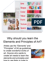 7th grade elements of art  and principles of design 2010