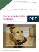 Cuerpo, Monstruosidad y Resistencia _ Que Responda El Viento