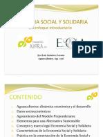 Introducción a la Economia Solidaria