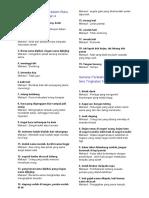 Senarai Peribahasa Dalam Buku Teks Tingkatan 4 & 5