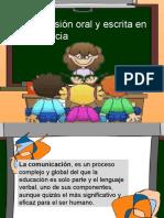 La Expresión Oral y Escrita en La Docenciappt