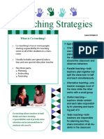 co-teaching strategies mcdaniel