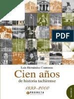 100 años de historia tachirense 3ra Edición