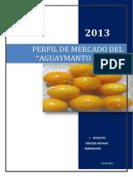 PERFIL DE MERCADOTECNIA AGUAYMANTO FRESCO