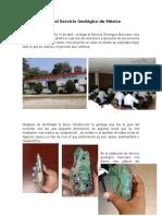 Visita Al Servicio Geológico de México