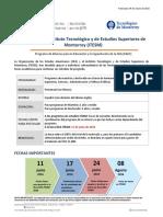 Convocatoria OEA-ITESM 2016