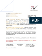 Carta de Autorizacion Para Servicio 2do Medio