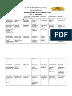 Cronograma de Actividades Del Municipio Heres (Autoguardado)