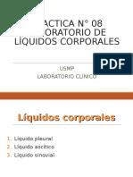 [Lab] Laboratorio Clínico - Líquidos Corporales