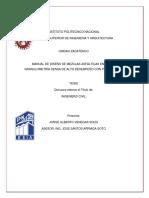 Manual de Diseño de Mezclas Asfálticas en Caliente de Granulometría Densa de Alto Desempeño Con Protocolo Amaac