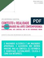 Arte Contemporânea e Arquitetura