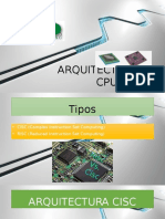 Arquitectura de Cpu