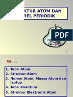 Struktur Atom Dan Tabel Periodik