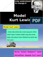 Model Kurt Lewin