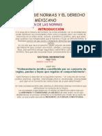 El Origen de Normas y El Derecho Positivo Mexicano
