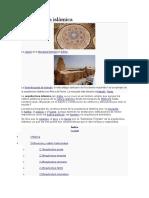Arquitectura islámica