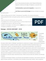 Dicas Unicamp 2°Fase - Blog Meta Vestibulares