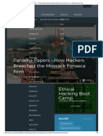 Panama Papers - How Hackers Breached the Mossack Fonseca Firm - InfoSec Resources