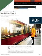 Articulo de Psyciencia_Dudo de Mi (Creo)