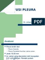 Efusi Pleura - Dr. Johanes