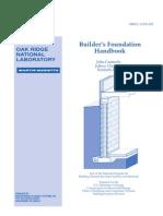 builders foundation handbook