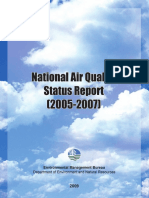 DENR Nat'l Air Quality Status Report FA