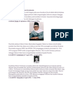 Penyebab Jatuhnya 7 Kabinet Di Indonesia