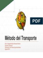 Clase 4_Método Del Transporte