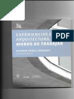 Experiencia en Arquitectura
