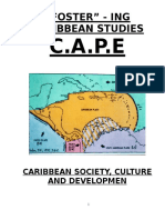 Caribbean Studies- Past Papers (1)