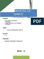Informe - Herramientas de Banco