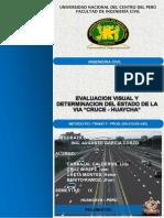 Determinacion de PCI-tramo Huaycha