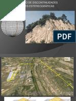 Geologia Estructura y Redes Estereograficas