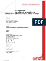 Presupuestos minimos para la elaboracon de un protocolo federal