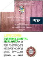 IMPLANTES LIFECORE PPT