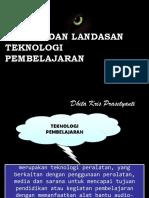 Konsep Dan Landasan Teknologi Pembelajaran