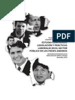 Estudio Comparado Legislacion y Practicas Laborales en El Sector Publico de Los Paises Andinos