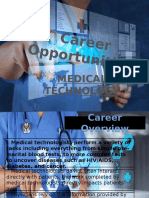 Career Opportunities in Medical Technology