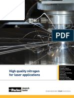 Parker Nitrogen for Laser Applications Msb