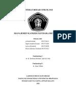 Referat Manajemen Kanker Payudara Metastasis