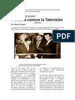 CRONICA PANAMA CONOCE LA TELEVISION .docx